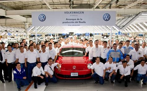 Volkswagen Starts Production Of The 2012 Beetle In Mexico