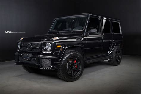 Amazing cars and drives on instagram: Black BRABUS Mercedes-Benz G63 AMG - ADV6 M.V2 CS Wheels ...