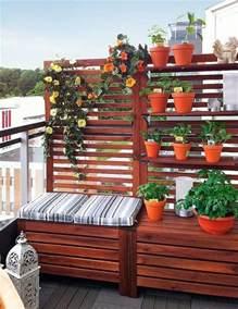 sichtschutz balkon stoff 40 ideen für attraktive balkon gestaltung für wenig geld
