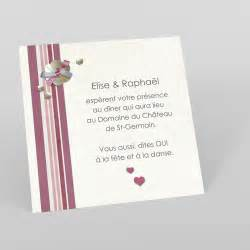 invitation mariage mariage cartes d invitation pour mariage