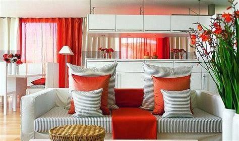 Sarkanā krāsa interjerā