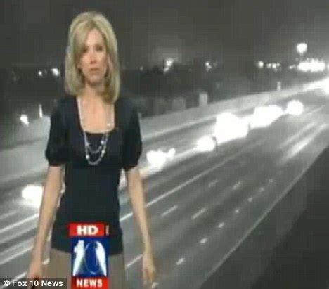 Unexplained 'Phoenix Lights' explosion caught live on news ...