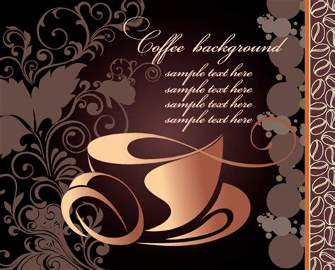 Creative Coffee Art Backgrounds Vector 04 Plants Coffee And Eats Okc For Sale Adelaide Kills The House Glasgow Leaf To Buy Jeanerette La