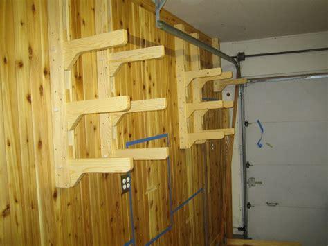 lumber storage rack design studio workshop wood island
