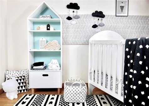 chambre en noir et blanc déco chambre bébé en noir et blanc deco clem atc