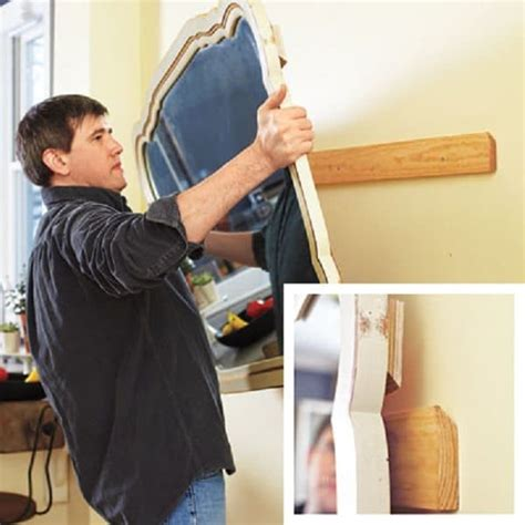 how to hang heavy mirror without nails 20 awesome hacks you wish you knew architecture