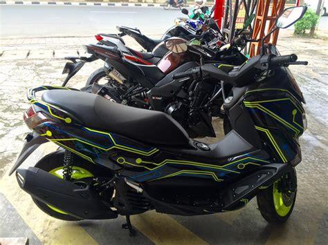N Max Modifikasi by Modifikasi Kelir Yamaha N Max Ini Bikin Ngiler Habis Berapa
