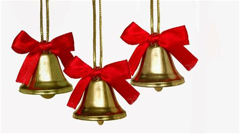 christmas bells bow ribbon christmas jingle bells images with holly ribbon decorations photos free hd wallpapers