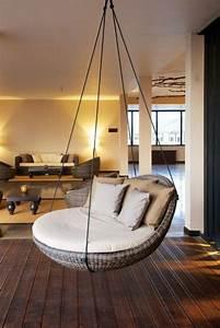 Chaise Suspendue Interieur : 49 photos de fauteuils suspendus pour votre int rieur des id es ~ Teatrodelosmanantiales.com Idées de Décoration