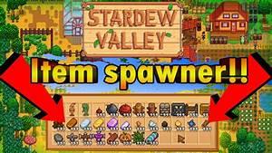 Stardew Valley ITEM SPAWN Mod - Creative Mode for Stardew ...