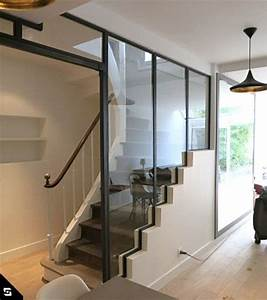 Verriere escalier verrieres d39interieur pinterest for Idee deco cuisine avec construire sa cuisine