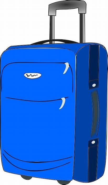 Suitcase Clipart Luggage Travel Bags Clip Cliparts