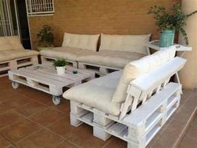 Comment Faire Un Salon De Jardin En Palette by Comment Fabriquer Un Canap 233 En Palette Tuto Et 60 Super