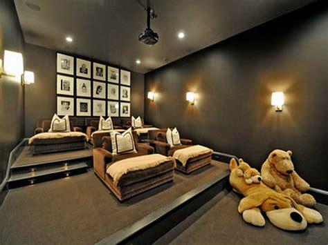Media Room Decor Ideas Home Theater