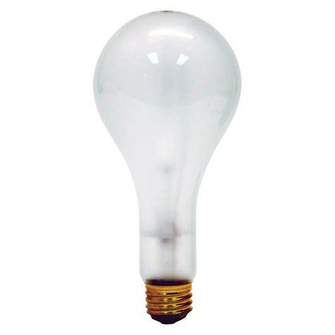 300 watt incandescent floor l ge 300 watt incandescent ps25 clear light bulb 300m 130v
