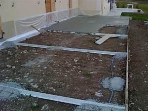 Joint De Dilatation Dalle : faire dalle beton exterieur idees de decoration ~ Dailycaller-alerts.com Idées de Décoration
