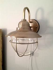Best ideas about plug in wall sconce on