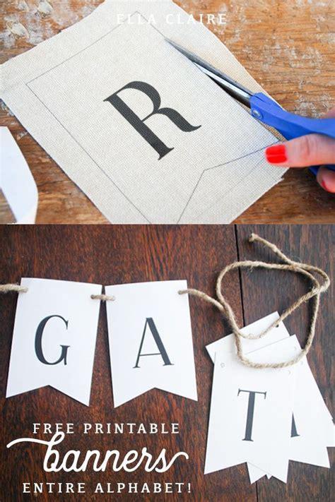 printable letters  create  vintage farmhouse