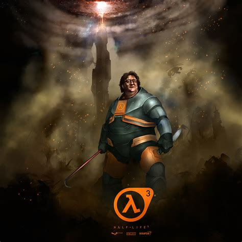 life  gabe newell funny full hd wallpaper