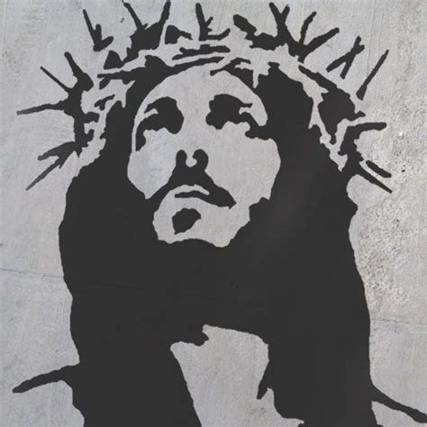 Abstract Black And White Jesus Painting by Pin By Otte On Diy Jesus Painting Jesus