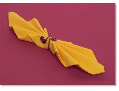pliage serviette noeud papillon plein de nouveaux pliages de serviettes en vue d 233 corations f 234 tes