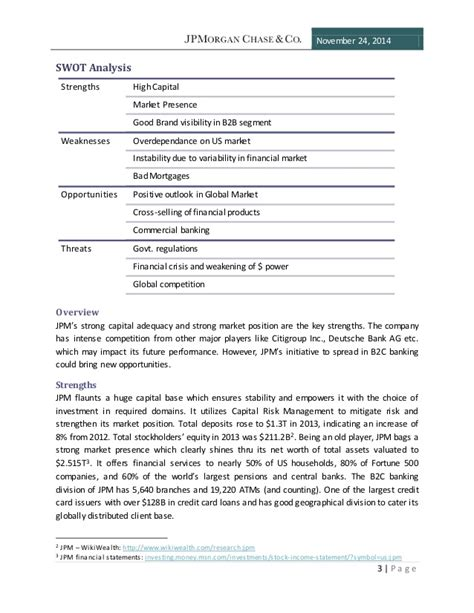 chase bank mission statement cv templates