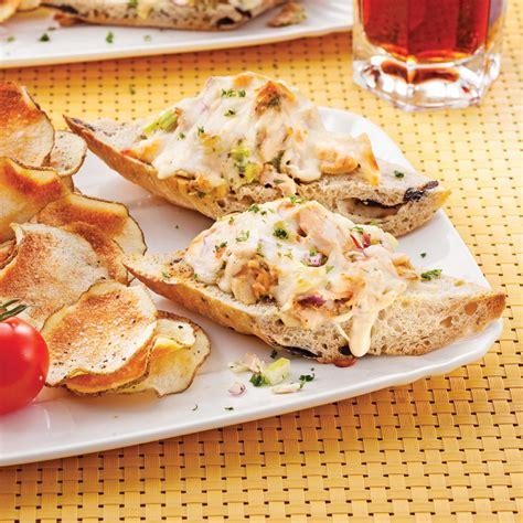 baguette cuisine pizza baguette au thon recettes cuisine et nutrition