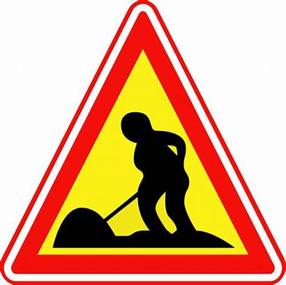 Traffic Road Sign Works Korean Svg Commons
