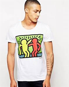 T Shirt Keith Haring : solid solid t shirt with keith haring print at asos ~ Melissatoandfro.com Idées de Décoration