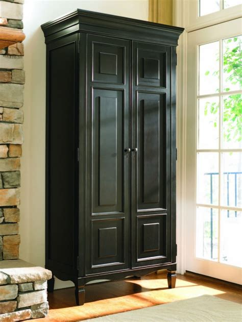 Storage Armoire With Shelves by Cabinet System Ideas Homesfeed