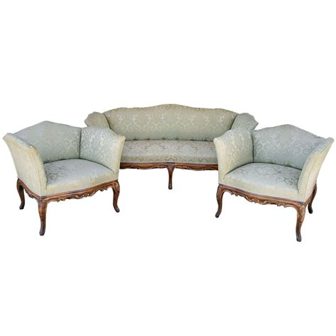 Provincial Sofa Set provincial sofa salon set at 1stdibs