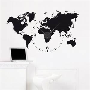 Wandtattoo Weltkarte Uhr : 10 best die welt des wohnens images on pinterest wall clocks alarm clocks and child room ~ Sanjose-hotels-ca.com Haus und Dekorationen