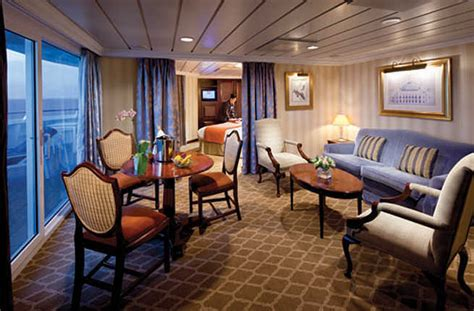 ultimate cruise ship suites fodors travel guide