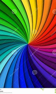 Colorful rainbow swirl stock illustration. Illustration of ...