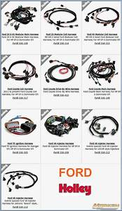 Holley Plug And Play Wire Harnesses For Their Dominator