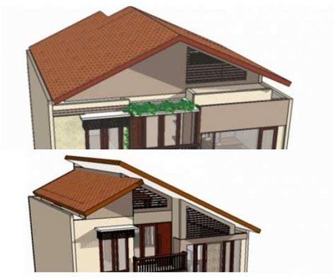 gambar bentuk atap rumah arearumahcom