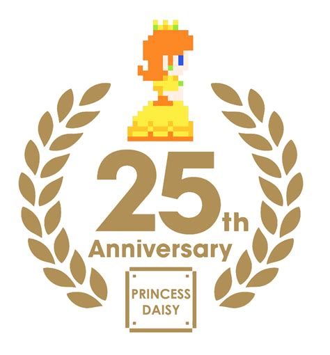 25th anniversary princess daisy 25th anniversary by zefrenchm on deviantart