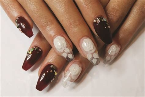 short coffin nail ideas  inspire   mani