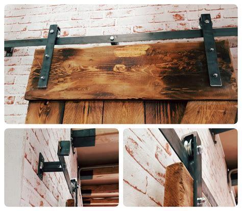 Porta scorrevole Barn Doors Cascina vintage 86x220 kit e binario anche su misura su misura