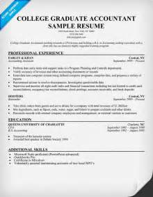 recent college graduate resume template new college graduate resume sle