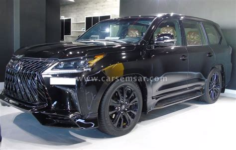 lexus lx  black edition sport  sale  qatar