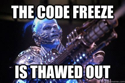 Mr Freeze Meme - bad pun mr freeze memes quickmeme