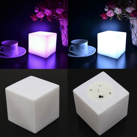 Led Light Room Decor by Led 7 Color Changing Mood Cubes L Light