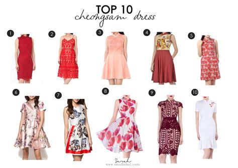Top 10 Chinese New Year Cheongsam Dress