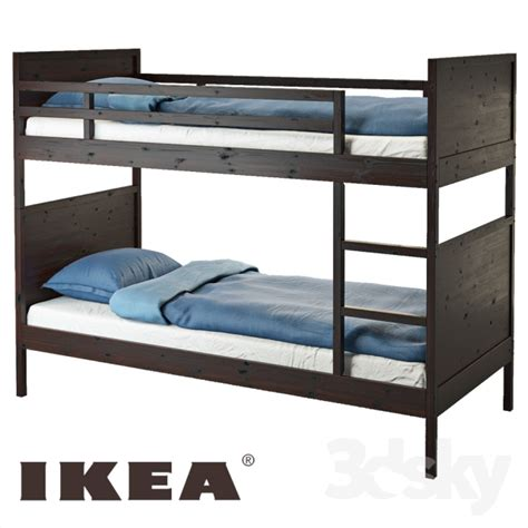 ikea bunk beds for 3d models bed bed nordahl ikea norddal ikea