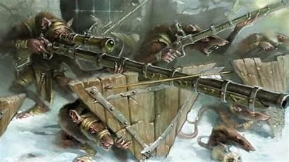 Skaven Warhammer Fantasy Warplock Jezzail Ratling Guns