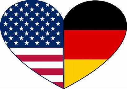 German American Heritage Clipart Month Heart 1000
