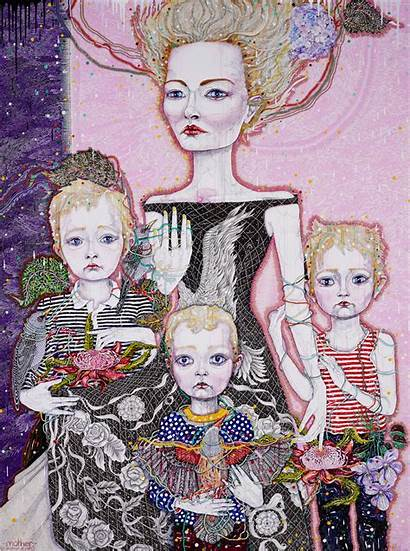 Archibald Prize Barton Nsw Kathryn Del Mother