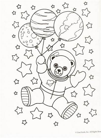 Coloring Pages Weird Frank Lisa Teddy Bears