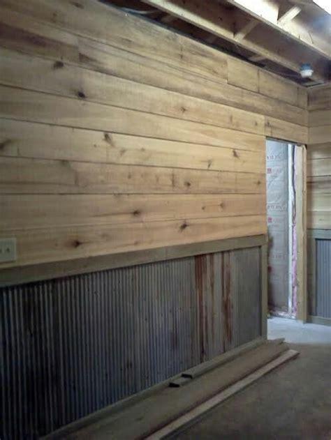 shiplap garage interior wall design garage interior garage walls